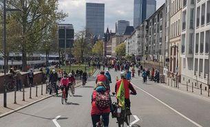 Mobilitätswende jetzt! 2. Mai_Rad Demo_Klima Gerecht Unterwegs