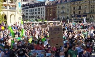 Klimastreik in Frankfurt am 24. September 2021