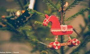 Natürliche Weihnachtsdeko