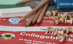 umweltfreundliche Schulmaterialien